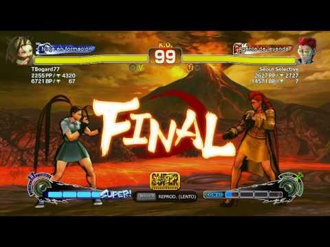 Match Comentado SSFIV AE : P1 - TBogard(Ibuki) VS P2 - Seoul Detective (C.Viper Rank #7)