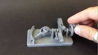 3d printing a working mechanism