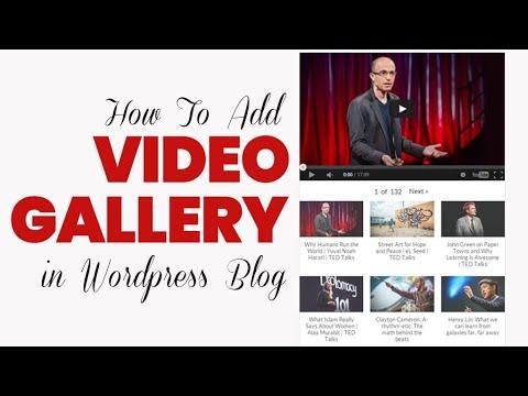 How to Create WordPress Youtube Video Gallery?