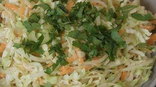 """Вкуснейший салат из капусты  """"Коул слоу """""""