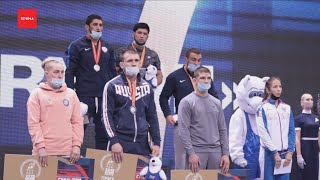 10 медалей выиграли красноярские борцы на Ярыгинском турнире
