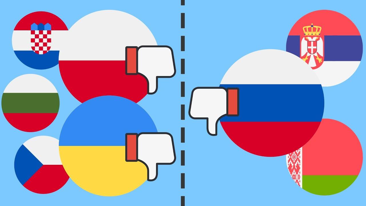 Почему славяне ненавидят друг друга ?