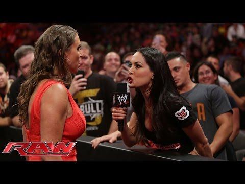 Stephanie McMahon confronts Brie Bella:...