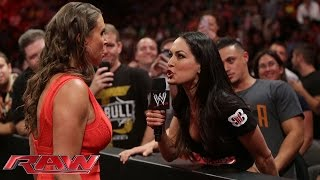 Download Stephanie McMahon confronts Brie Bella: Raw, July 21, 2014 Mp3 and Videos