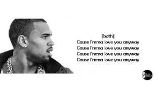 Gambar cover Anyway - Chris Brown (Lyrics)