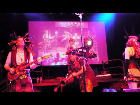Abney Park (Steampunk), The Wrong Side, Live Concert, San Francisco, Burton's Wonderland Ball