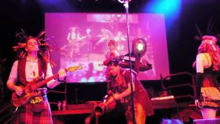 Abney Park (Steampunk), The Wrong Side, Live Concert, San Francisco, Burton