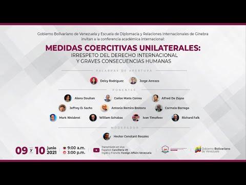 Medidas coercitivas unilaterales: irrespeto del derecho internacional y graves consecuencias humanas