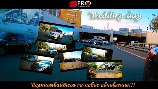 Чеченская свадебная колонна в Москве / Свадьба Магомеда и Хеды