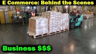 Ecommerce Business: Behind The Scenes PT2. Picking up products