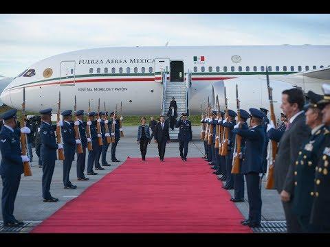 Arribo a Base del Comando Aéreo de Transporte Militar, Bogotá, Colombia