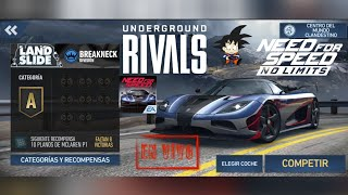 Need For Speed No Limits Android Rivales Clandestino LandSlide 2
