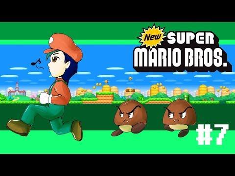 New Super Mario Bros. Part 7 - Bowser Jr's Weakness