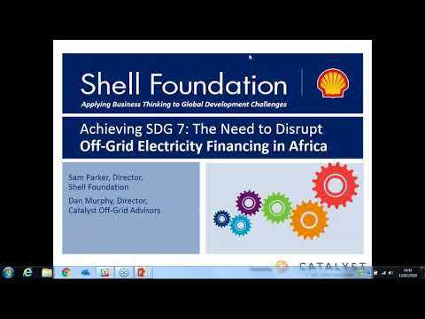 Mobilizing Commercial Finance to Achieve Universal Energy Access Across Sub-Saharan Africa