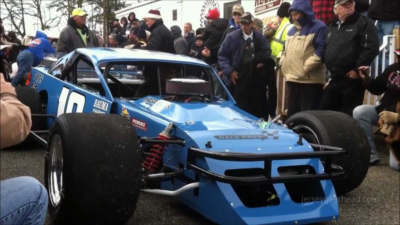 Don Bohn Ford >> Wall Stadium Speedway Turkey Derby 2012 Vintage cars - YouTube