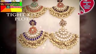 Meena Jewellery Latest Design Collection From Mj Immitation Mumbai Zaveri Bazar