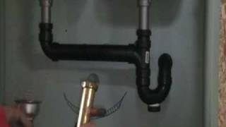 Old Plumber Show How To Install A Dishwasher Drain Under Your Sink.