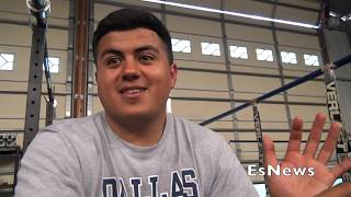 Pita Garcia Reaction To Mikey Garcia Fighting Mandatory Richard Commey EsNews Boxing