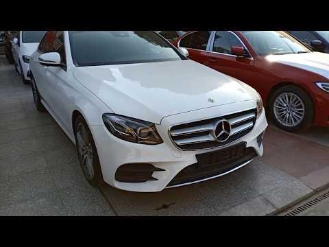 2020 New car : #Mercedes Benz E200 AMG price 1475000 $ Egyptian pound