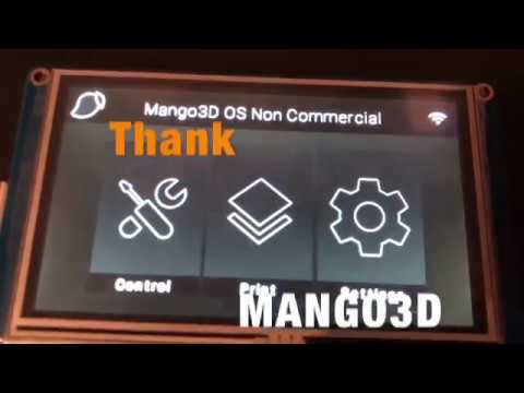 MANGO3D TOUCH SCREEN for MANGO OS SLA LCD/DLP operating system for 2K and  4K printers
