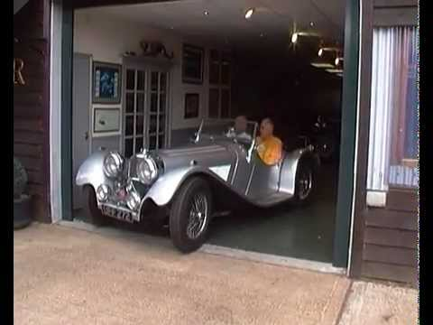 Suffolk Jaguar SS100, John Sutton's Test Drive