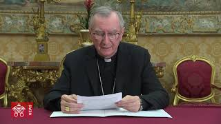 Video message of Cardinal Parolin to the International Conference of the Centesimus Annus Foundation