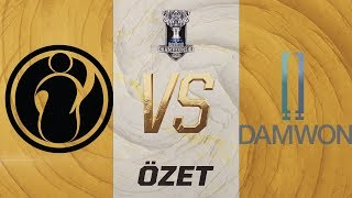 Invictus Gaming ( IG ) vs DAMWON Gaming ( DWG ) Maç Özeti | Worlds 2019 Grup Aşaması 3. Gün