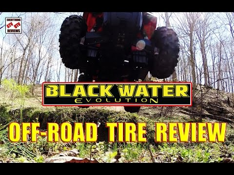 ITP BLACKWATER EVOLUTION ATV Tire Review - The American Made Ripper Off-Road Tire!