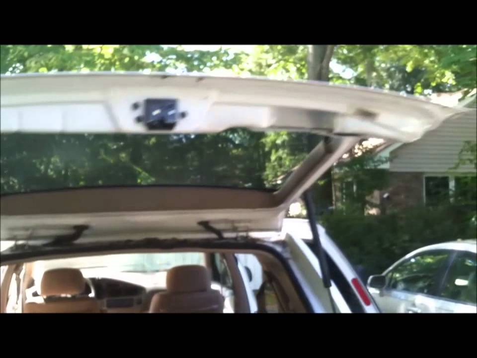 maxresdefault how to fix broken tailgate latch on toyota sienna youtube Toyota Sienna Parts Diagram at bakdesigns.co