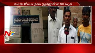 Swine Flu Hits Wanaparthy District || Child Lost Life in Amarchinta Village || NTV