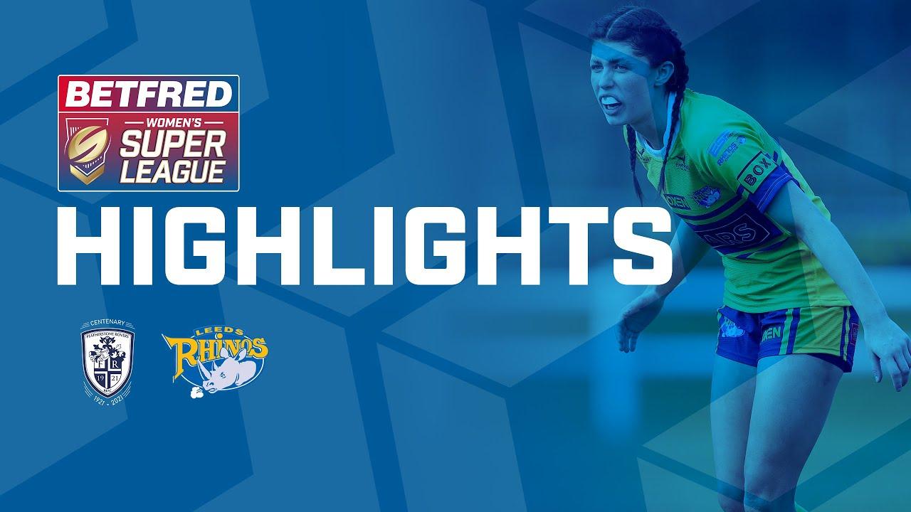 Highlights | Featherstone Rovers v Leeds Rhinos