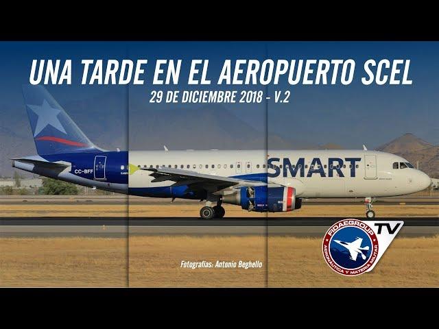 Una tarde en Arturo Merino Benitez, SCEL (VIDEO 2)