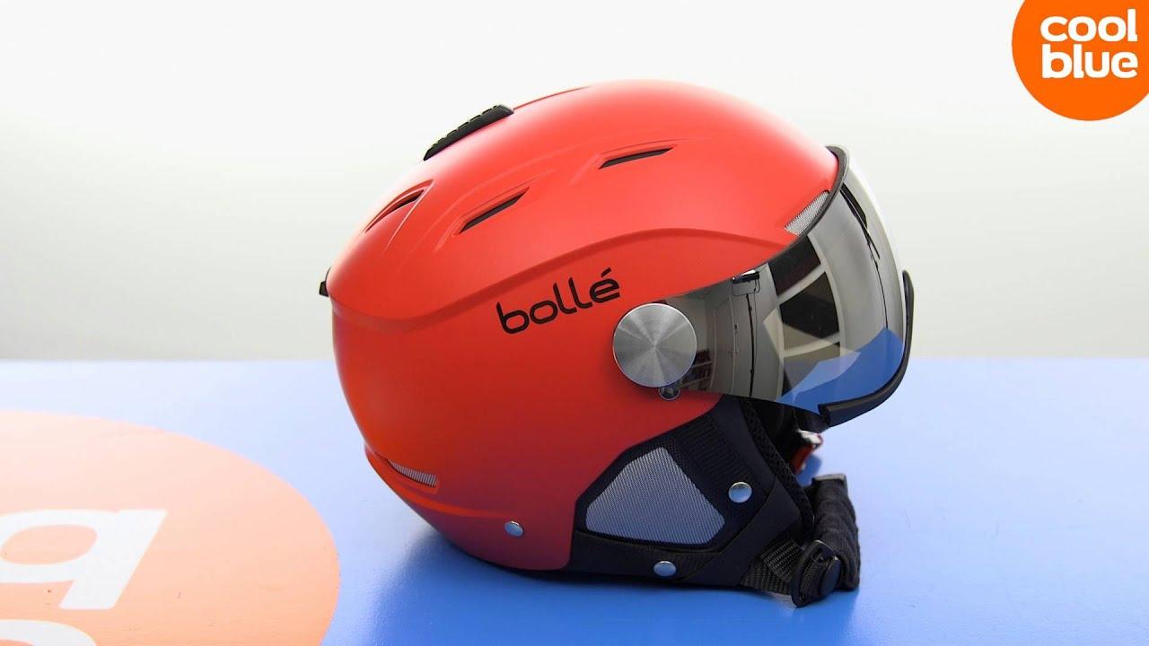 9324dde393 Bollé Backline Visor Red Productvideo (NL/BE) - YouTube