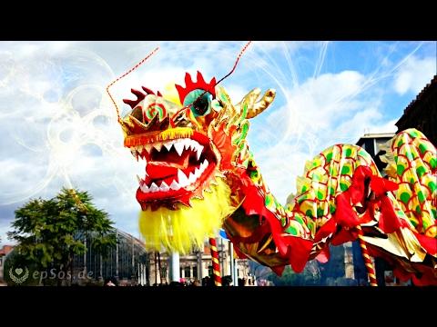 Китайский Новый год в Барселоне.
