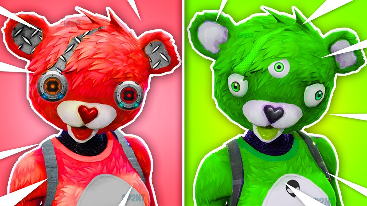 Whats Your Favourite Cuddle Bear Fortnite Skin Concepts Youtube