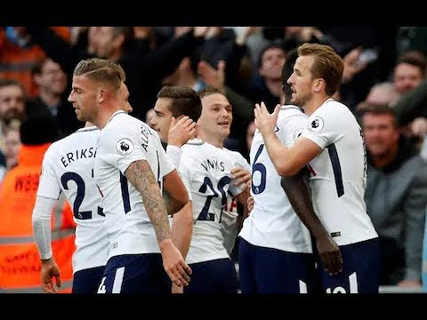 All 129 Tottenham Hotspur Goals in 2017 HD