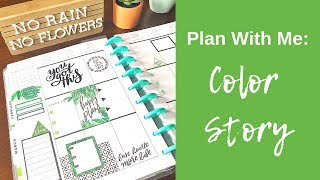 CLASSIC | Plan With Me | Color Story