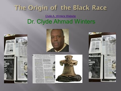 Origin of the Black Race: On African History Notebook
