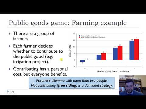 Ch4 Public Goods Game And Peer Punishment Youtube