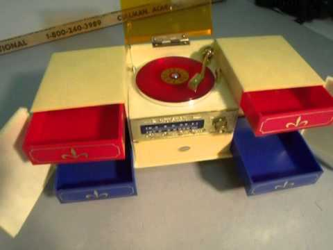 Wind up Record Player Music Box on EBAY