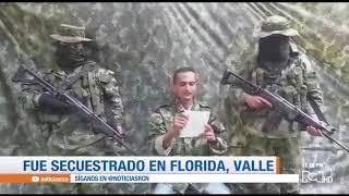 Muestran prueba de supervivencia de un soldado secuestrado por el EPL