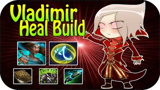 Vladimir - Heal Build + Heal Masteries - Full Gameplay [ger]
