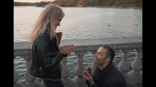 Fake Proposal Turns Into REAL One!  Gorgeous Flash Mob Surprise...