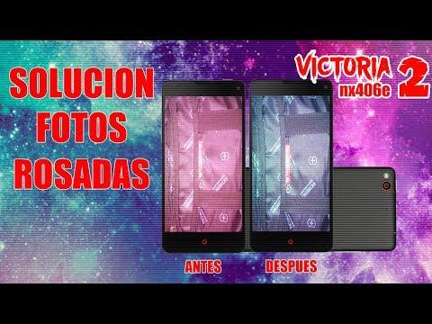 SOLUCION FOTOS ROSADAS VICTORIA 2 NX406E SIN DESCARGAR APLICACIONES 2017