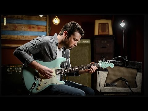 Fender Special Edition 1960s Stratocaster Surf Green | Guitar Demo