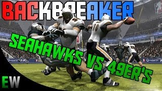 BackBreaker (SEA vs SAN) Xbox 360 Gameplay