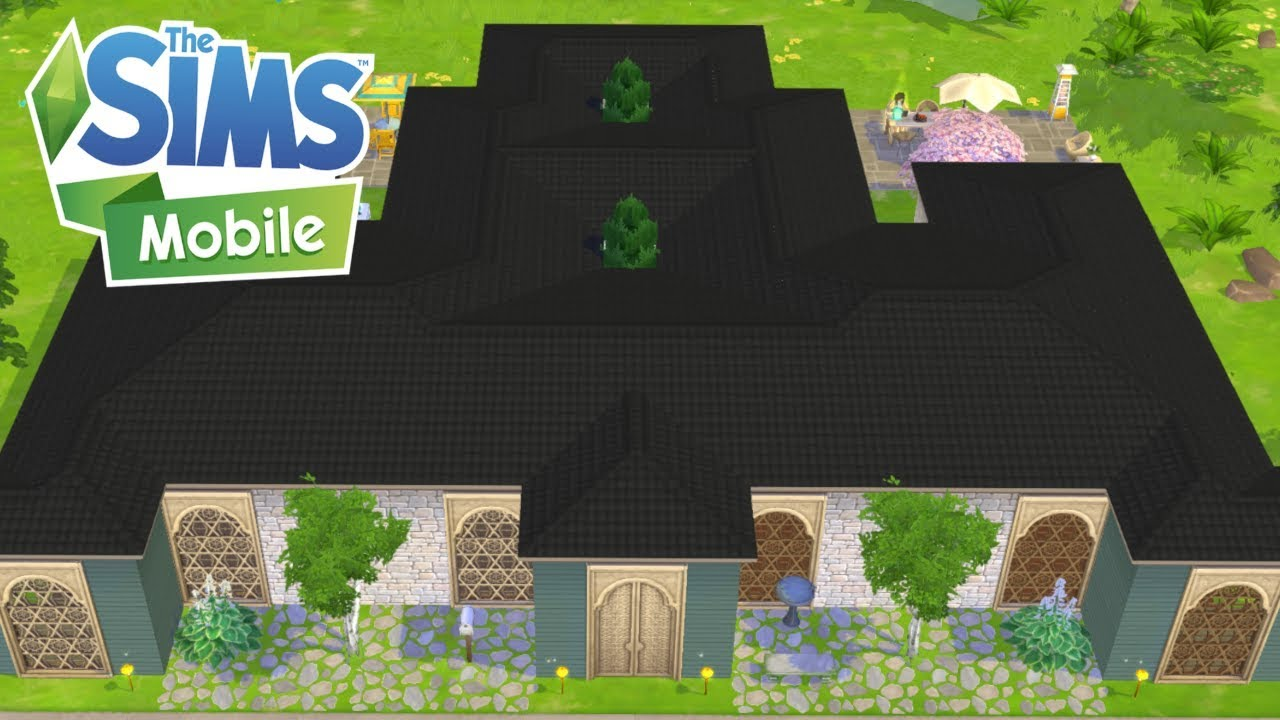 The Sims Mobile Sprawling Shape A Licious Mansion Keeping Up With Cody Level 40 Ios
