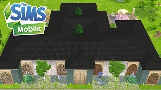 The Sims Mobile Sprawling Shape A Licious Mansion Keeping Up With Cody Level 40 Ios Youtube