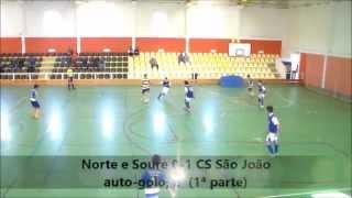 Juvenis (Campeonato AFC): CDEF Norte e Soure 0-5 CS São João