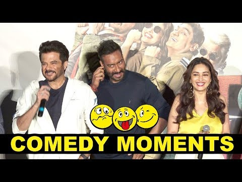 Total Dhamaal Comedy Moments At Trailer Launch - Anil Kapoor, Ajay Devgan, Madhuri Dixit Mp3